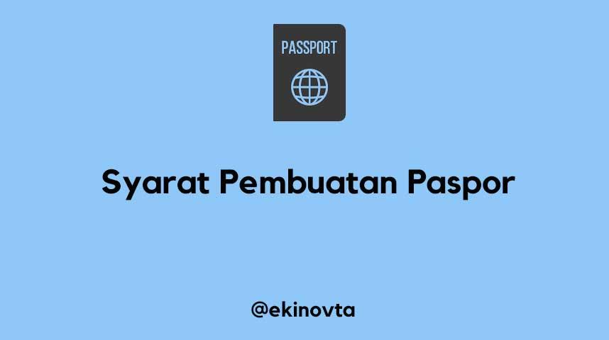 cara membuat paspor online 2019