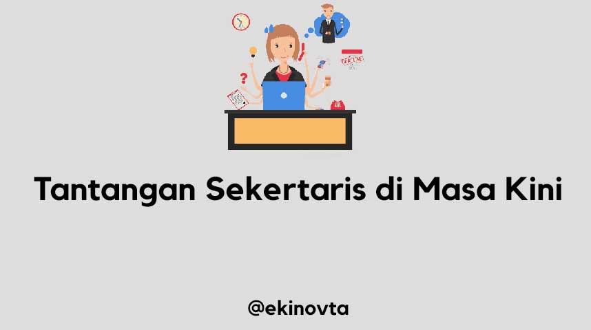 artikel tantangan sekretaris