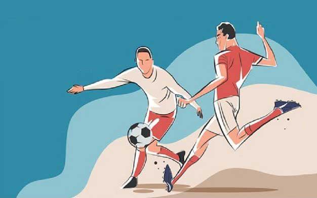 rangkuman materi sepak bola
