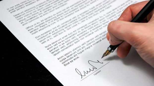 format surat resign resmi