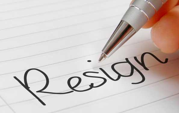 contoh surat resign kerja
