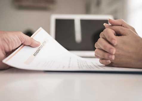 format contoh surat resign
